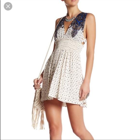 Free People Walking Through My Dreams Mini Dress S